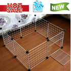 Outdoor Pet Playpen Animal Cage Dog Fences Small Puppy Play Yard Crate