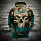 Miami Dolphins Football Hoodie Hooded Sweatshirt Jacket gift for fan on eBay