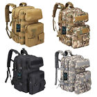 40L EDC Tactical Backpack Multi-Functional Outdoor Molle Bag Heavy Duty Rucksack