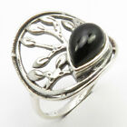 Black Onyx Ring Size 6 Women Wholesale Jewelry Sterling Silver