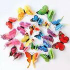 12pcs 3d Butterfly Wall Stickers Home Decor Room Decoration Sticker Bedroom Girl