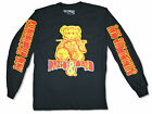 Rae Sremmurd Teddy Dazed Blazed 2018 Tour Black Long Sleeve Shirt New Official