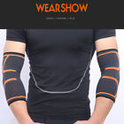 2x-Elbow-Support-Brace-Fit-Compression-Arm-Sleeve-Sports-Breathable-Pain-Relief