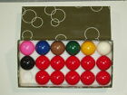 """1 5/8"""" 17 BALL SNOOKER BALLS AVAILABLE WITH OR WITHOUT TRIANGLE $68.91 CAD on eBay"""