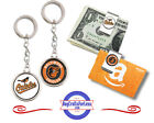 FREE DESIGN > BALTIMORE ORIOLES - Money/Gift Card Clip or Keyring <FAST SHIP> on Ebay