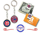 FREE DESIGN > CHICAGO CUBS - Money/Gift Card Clip or Keyring <FAST SHIP> on Ebay