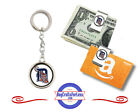 FREE DESIGN > DETROIT TIGERS - Money/Gift Card Clip or Keyring #GiftForHim on Ebay