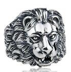 Gothic Punk Ring For Men Retro Male Ring Stainless Steel Exaggeration