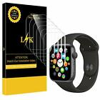 LK 6 Pack Screen Protector for Apple Watch 40mm / 38mm (Series 4/3/2/1
