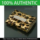 [OMNIA]Crystal Ladies Wallet Genuine Leather Trifold Purse ID Card Coins Bag377S image