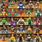 "Up to 100 IMAGINEXT Power Rangers DC Super Friends 2.5"" figure collection toy"