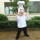2# Cute Chef Mascot Costume Cosplay Party Game Dress Outfit Advertising Adult 1p