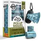 Poop Bags for Dogs - Pet Dog & Cat Scented/Unscented Biodegradable Waste Poo Bag