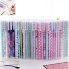 6/10PC Cute Cartoon Colorful Gel Ink Pens Pen Ballpoint School Office Stationery