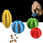 Useful Rubber Ball Chew Pet Dog Puppy Teething Dental Healthy Treat Clean To #QI