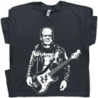 Bass Guitar T Shirt Cool Electric Acoustic Guitar Tee Bassist Vintage Rock Frnk  image