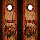 Cincinnati Bengals Cornhole Wrap NFL Decal Wood Vinyl Gameboard Skin Set YD333 $39.55 USD on eBay
