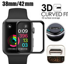 3D Tempered Glass Screen Protector For iWatch Apple Watch 4/3/2/1 38/42/40/44mm