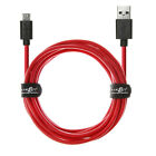 JUICEBITZ® USB to Micro USB 20AWG (20C+28D) Heavy Duty Charger & Data Cable Lead