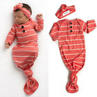 Newborn Infant Baby Girl Floral Gown Coming Home Outfit Baby Girl Gift