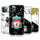 LIVERPOOL FC LFC 2017/18 MARBLE HARD BACK CASE FOR APPLE iPHONE PHONES