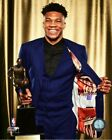 Giannis Antetokounmpo Milwaukee Bucks NBA MVP Photo WK231 (Select Size) on eBay
