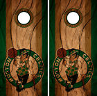 Boston Celtics Cornhole Wrap NBA Decal Vinyl Wood Gameboard Skin Set YD310 on eBay