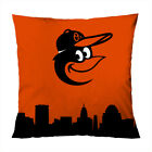 """BALTIMORE ORIOLES A Decorative Zippered Pillow Case 16"""" 18"""" 20"""" Cushion Cover on Ebay"""