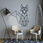 Nordic Geometric Fox Vinyl Wall Stickers Decals For Kids Rooms Home  Decor