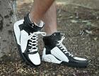 Punk Men's High Tops Sport Sneaker Ankle Boots Trend Lace Up Outdoor Runing Shoe