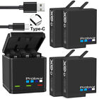 Kyпить AHDBT-501 Battery or 3-Slots Storage Charger for Gopro Hero 5 6 7 Black 2018 на еВаy.соm