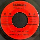 """Bobby """"Mr. Blues"""" Merrell - I Ain't Mad At You - Bargain Records 45 Jump Blues"""