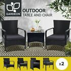Gardeon Outdoor Furniture Dining Chairs Chair Table Patio Bistro Garden Coffee