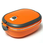 Stainless Thermo Insulated Thermal Food Container Bento Lunch Box 2/1 Layer USA