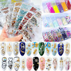 6 Patterns/Bag Glitter Nail Art 3D Decorations Rhinestones Sequins Metal Studs