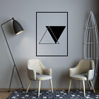 Nordic Style Geometry Mural Vinyl Stickers Home Decoration Living Room  Decor