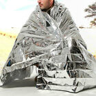 Mylar Foil Blanket Survival Emergency Sleeping Bag Camping Outdoor Waterproof
