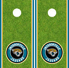 Jacksonville Jaguars Cornhole Wrap NFL Decal Vinyl Gameboard Skin Set YD413 $39.55 USD on eBay