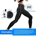 US Women Thermo Neoprene Body Shaper Weight Loss Super Sweat Sauna Yoga Pants TH