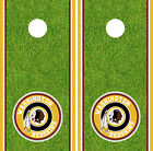 Washington Redskins Cornhole Wrap NFL Decal Vinyl Gameboard Skin Set YD428 $39.55 USD on eBay