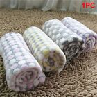 Soft Blanket Non Slip Cute Pet Dog Puppy Bed Pad Coral Fleece Mat for Home Decor