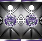 Sacramento Kings Cornhole Wrap NBA Decal Vinyl Metallic Gameboard Skin Set YD139 on eBay
