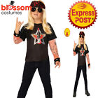 CK1528 Rock Star Boy Rocker Band 60s 70s 80s Child Boys Fancy Dress Up Costume