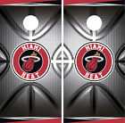 Miami Heat Cornhole Wrap NBA Decal Vinyl Gameboard Skin Set YD436 on eBay