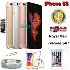 New Apple iPhone 6s 128GB 64GB 32GB 16GB Unlocked Sim Free Smartphone Plus Gift