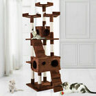 """67"""" Cat Tree Tower Condo Indoor Furniture Scratching Post Pet Kitty Post Bed"""