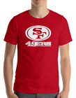 SAN FRANCISCO 49ERS RED T-Shirt WHITE Graphic Cotton Adult Logo S-3XL on eBay