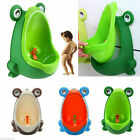 Frog Kids Potty Toilet Training Children Urinal For Boys Bathroom Trainer P T6D2 image