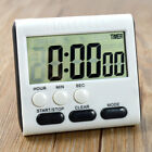 Large LCD Digital Kitchen Cooking Timer Count Down Clock Alarm Stopwatch New US