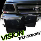 For 97-02 03 F150/F250/Expedition Euro Smoke Tint Headlights Headlamps Lamps K2